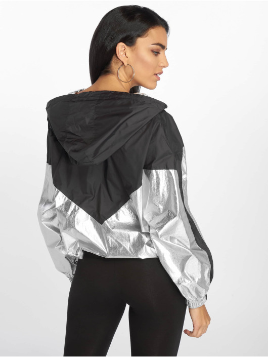 DEF Lightweight Jacket Glossy silver colored