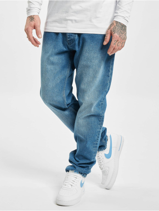 DEF Loose fit jeans Theo blauw