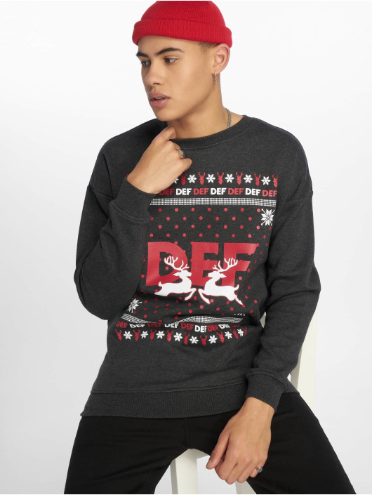 DEF MERCH Sweat & Pull Crewneck gris