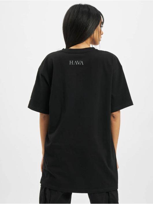 DEF MERCH T-Shirt MERCH HAVA schwarz