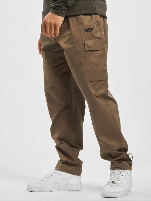 DEF Pantalon cargo Cargo brun