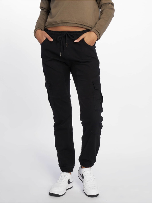 DEF Pantalon cargo Lea noir
