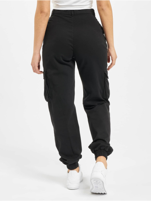 DEF Pantalon cargo Ruby noir