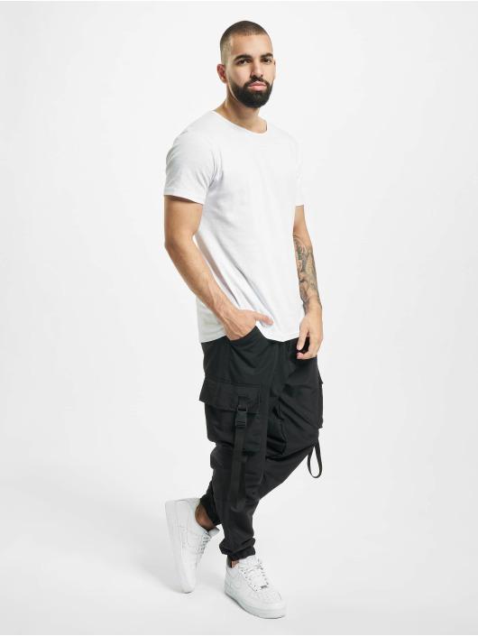 DEF Pantalon cargo Akif noir