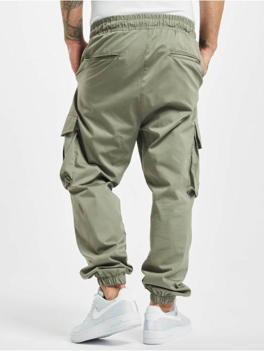 DEF Pantalon cargo Flo olive