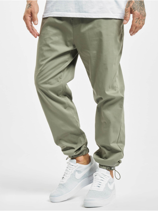 DEF Pantalon chino Tom olive