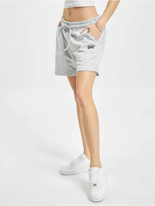DEF Pantalón cortos Joy gris