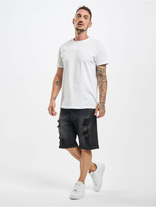 DEF Pantalón cortos Frey negro