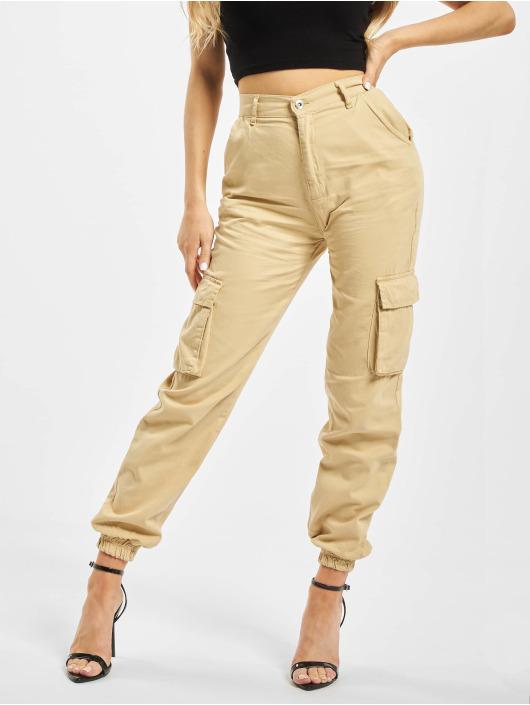 DEF Pantalone Cargo Ruby beige