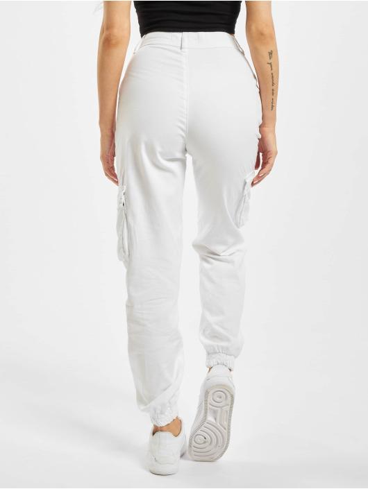 DEF Pantalone Cargo Ruby bianco