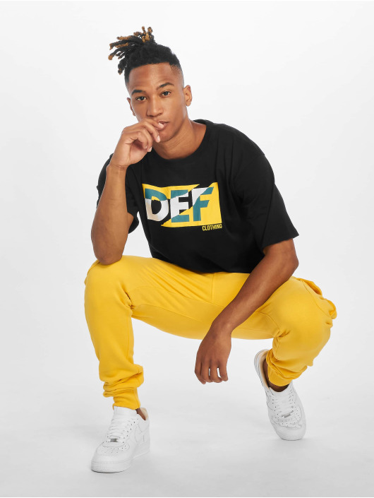DEF Pantalone ginnico Gringo giallo