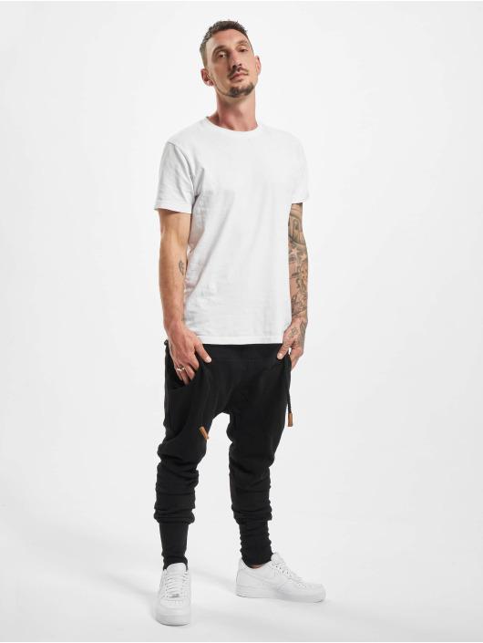 DEF Pantalone ginnico Thick Drawstring nero