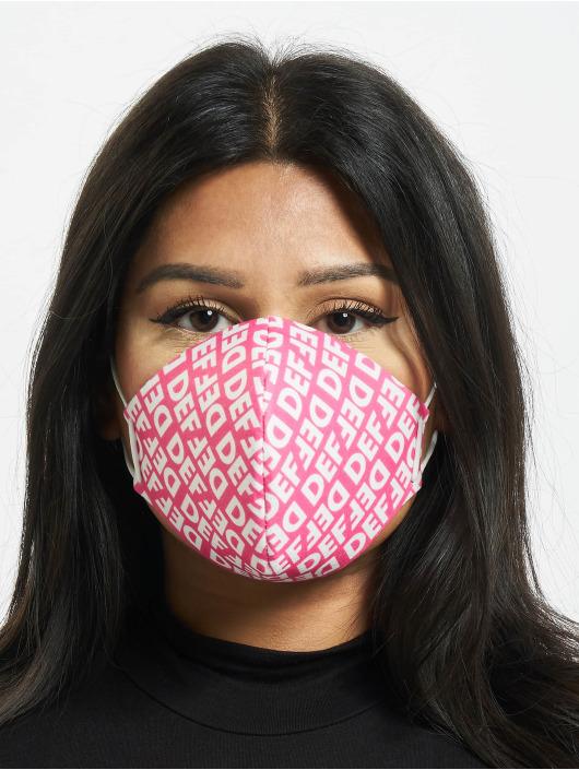 DEF Pozostałe Face Mask pink