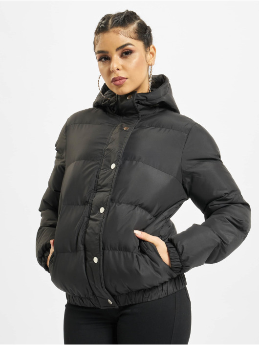 DEF Puffer Jacket Bubble schwarz