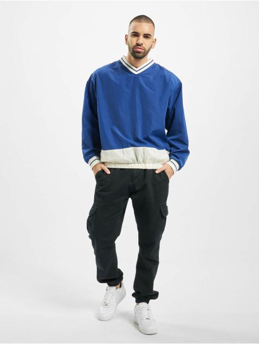 DEF Pullover Huddle blau