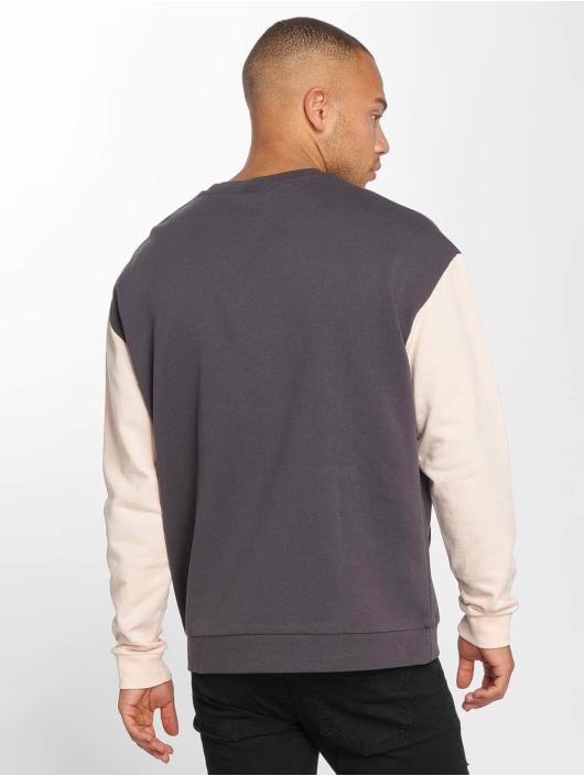 DEF Pullover Kangaroo grau