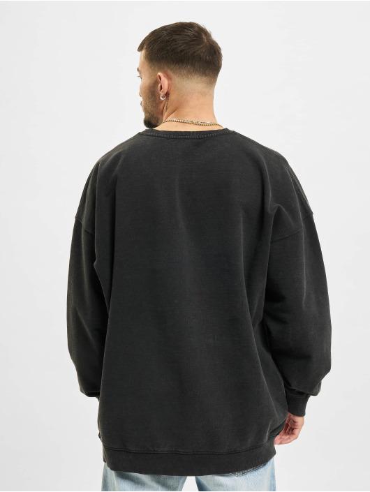 DEF Pullover Oversized grau