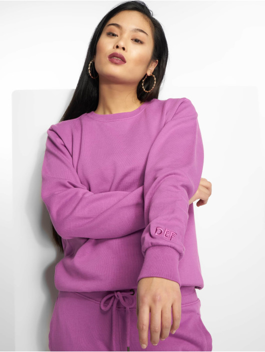 DEF Pullover Basic purple
