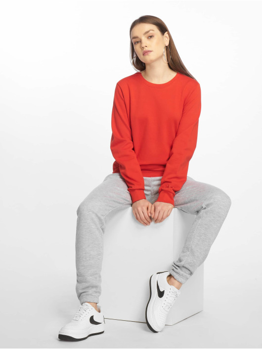 DEF Pullover Basic rot