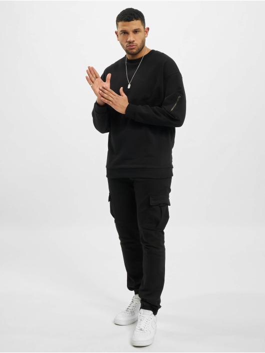 DEF Pullover Joe schwarz