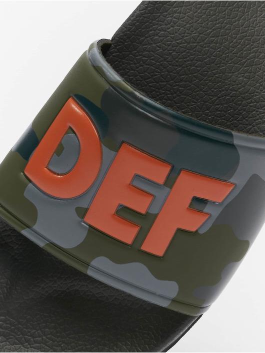 DEF Sandaler Defiletten kamouflage