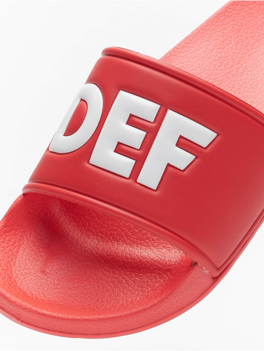 DEF Sandals Defiletten red