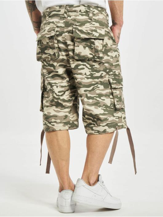 DEF Shorts Camo beige