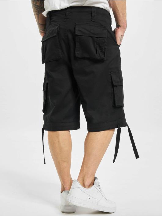 DEF Shorts Cargo schwarz