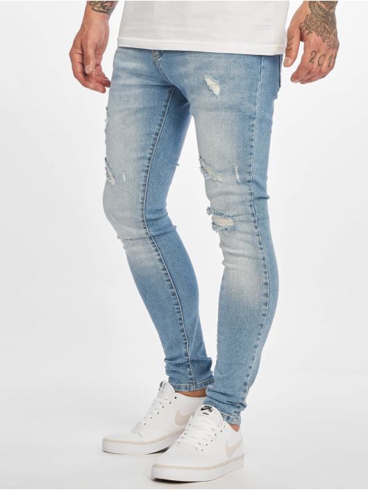 DEF Skinny jeans Dean blå