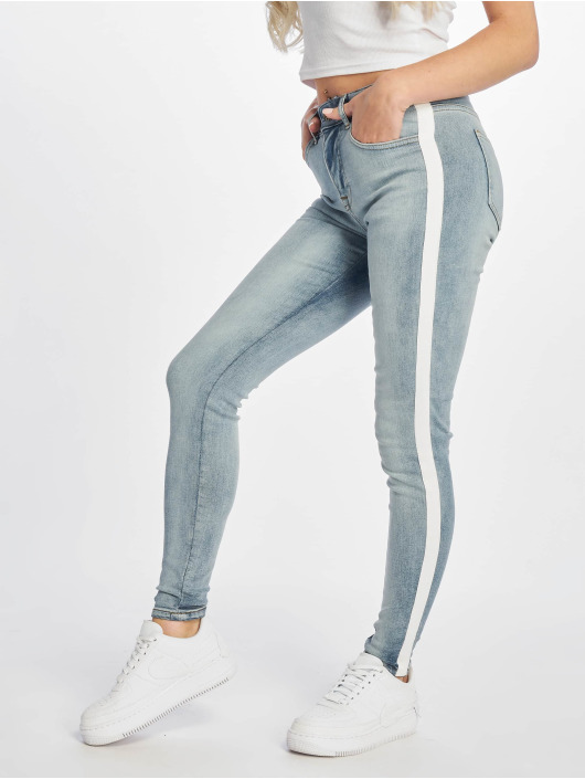 DEF Skinny Jeans Rayar blå