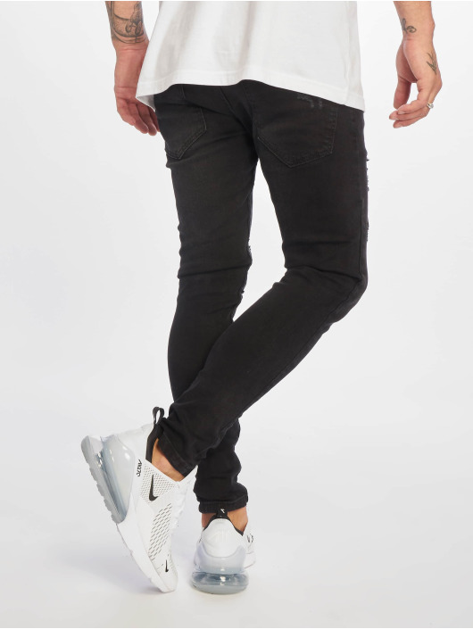 DEF Skinny Jeans Rio czarny