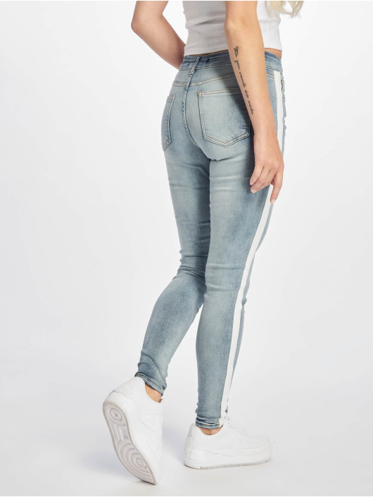 DEF Skinny Jeans Rayar modrý
