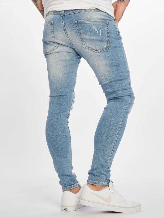 DEF Skinny Jeans Dean niebieski