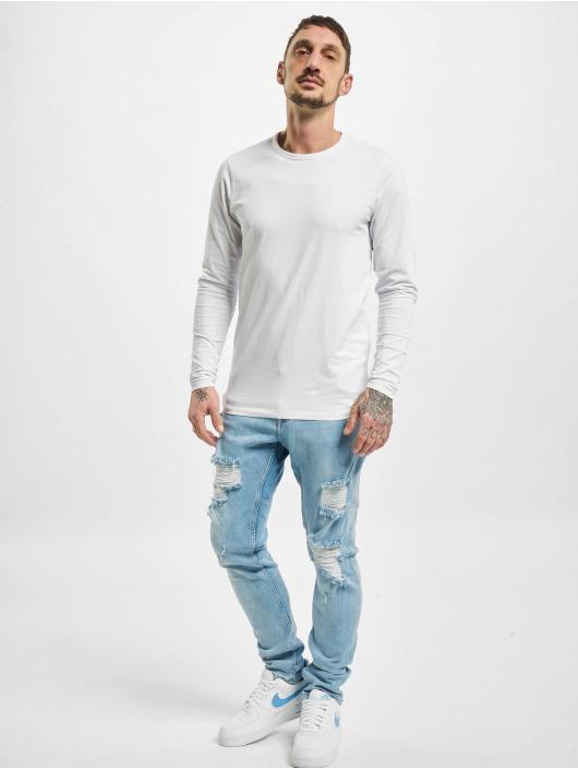 DEF Skinny Jeans Levy niebieski