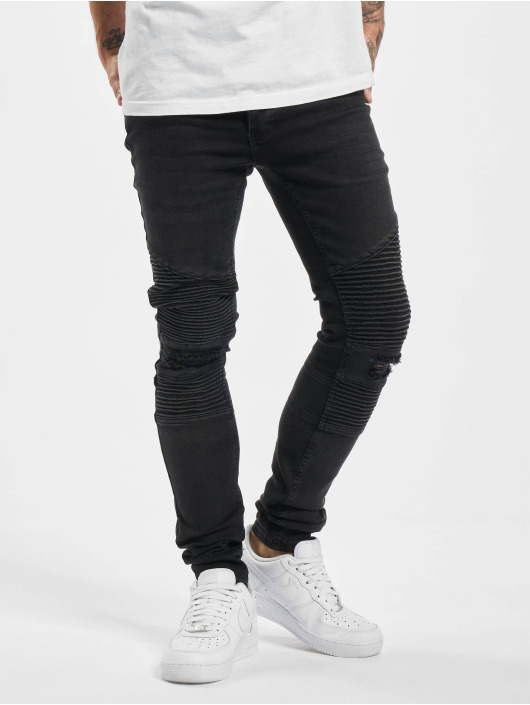 DEF Skinny jeans Lois zwart