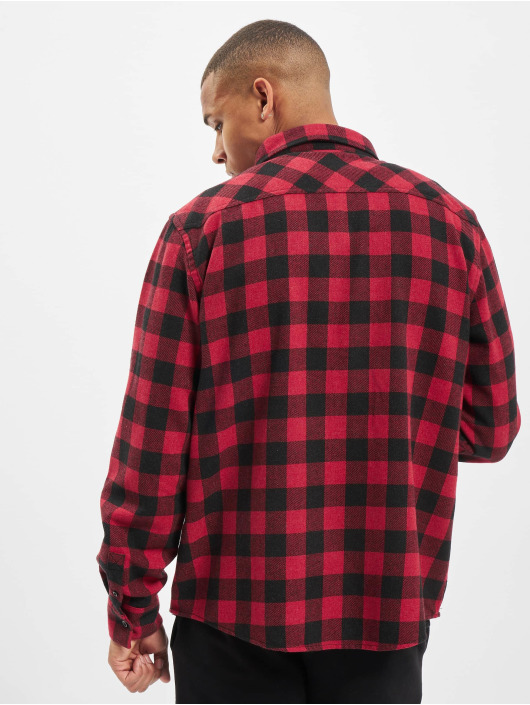 DEF Skjorte Maxim rød