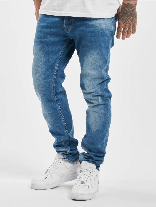 DEF Slim Fit -farkut Hines sininen