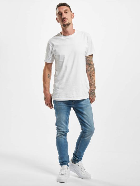 DEF Slim Fit -farkut Rislev sininen
