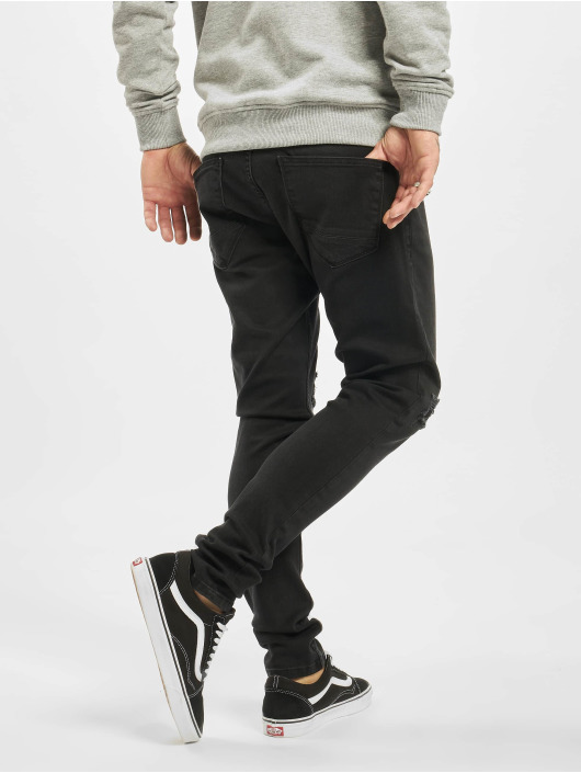 DEF Slim Fit Jeans Ramon èierna