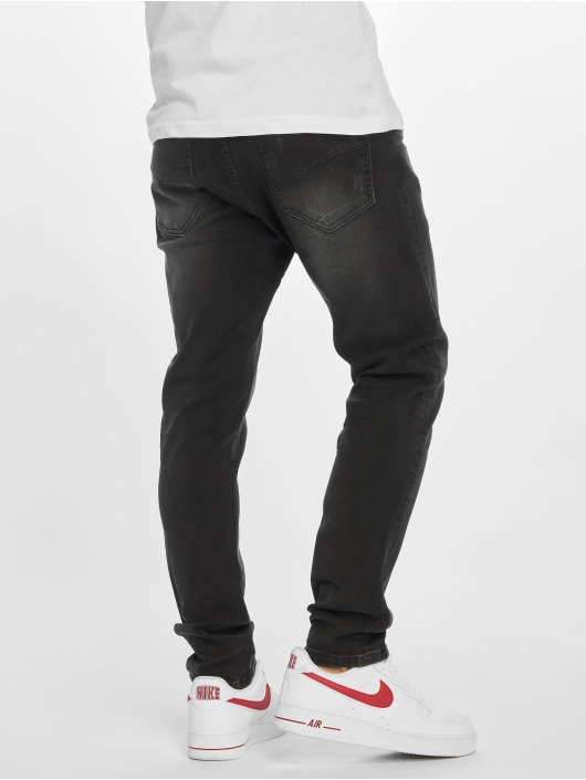 DEF Slim Fit Jeans Raven èierna
