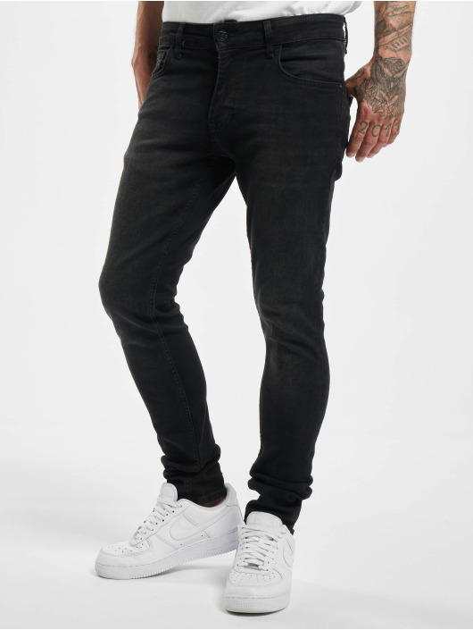 DEF Slim Fit Jeans Levin èierna