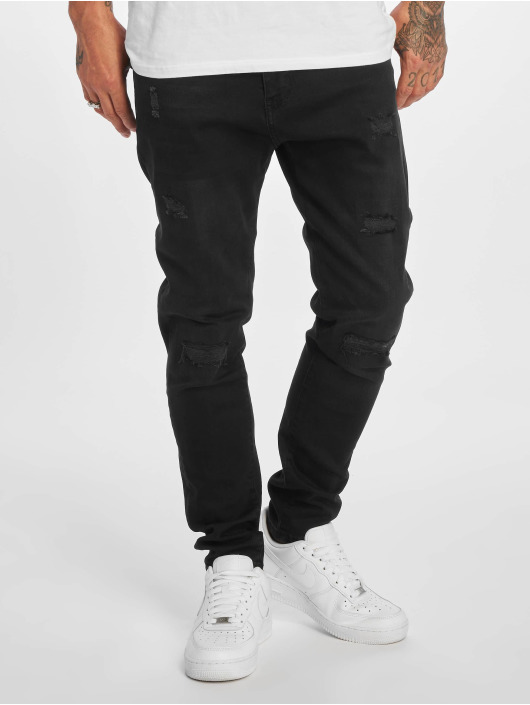 DEF Slim Fit Jeans Burundi čern