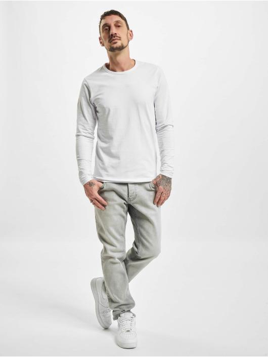 DEF Slim Fit Jeans Cem šedá