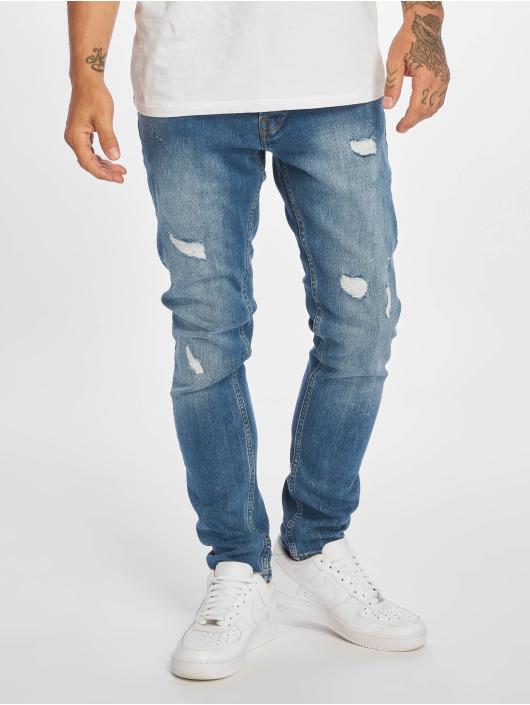 DEF Slim Fit Jeans José blå