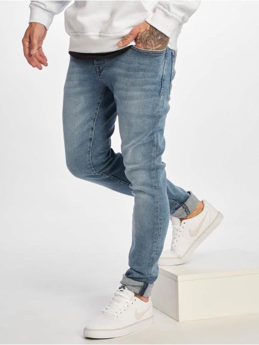 DEF Slim Fit Jeans Till blå