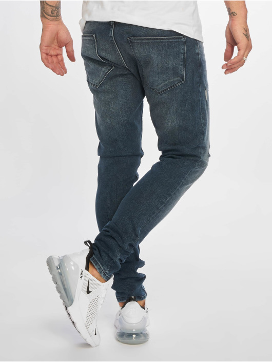 DEF Slim Fit Jeans Yunus blå