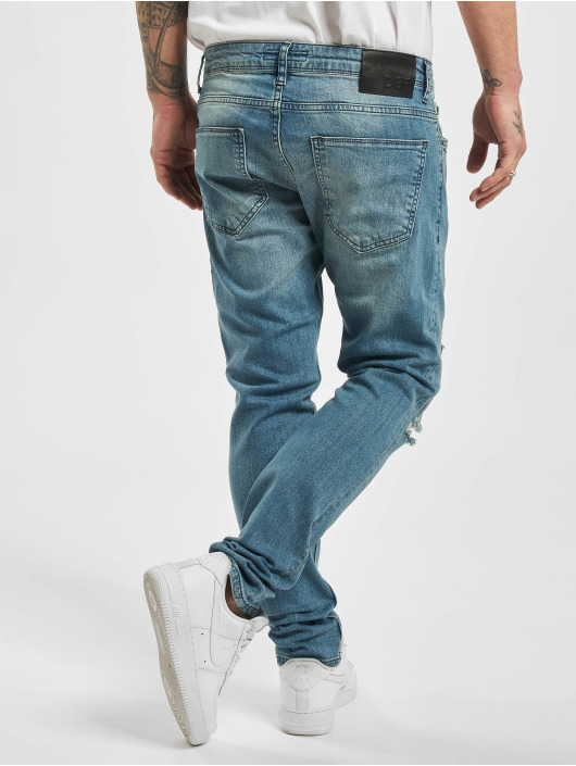DEF Slim Fit Jeans Castor blau