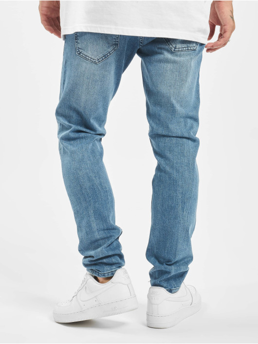 DEF Slim Fit Jeans Wes blauw