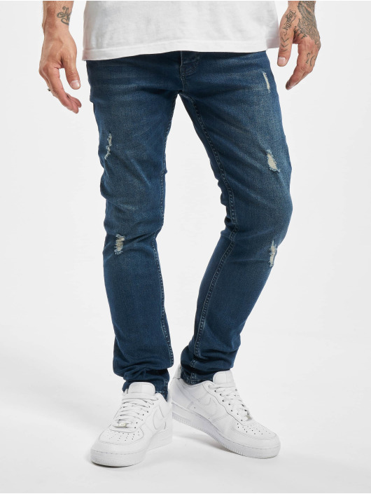 DEF Slim Fit Jeans Hoxla blue
