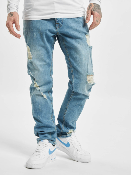 DEF Slim Fit Jeans Claudio blue